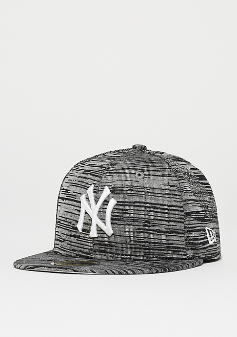 New Era 59Fifty MLB New York Yankees Engineered gry/blk