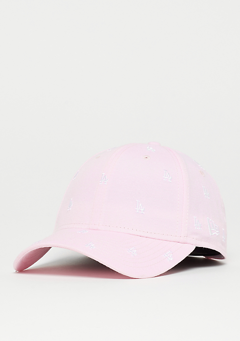 New Era 9Forty MLB Los Angeles Dodgers pink/optic white