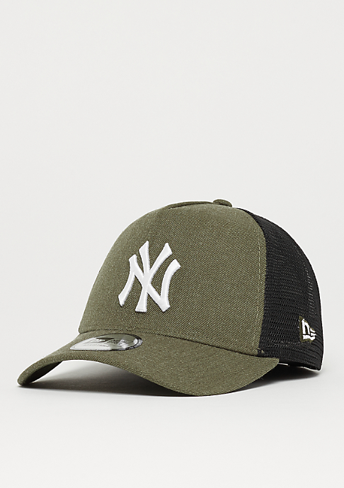 New Era 9Forty MLB New York Yankees Heather Trucker har/whi
