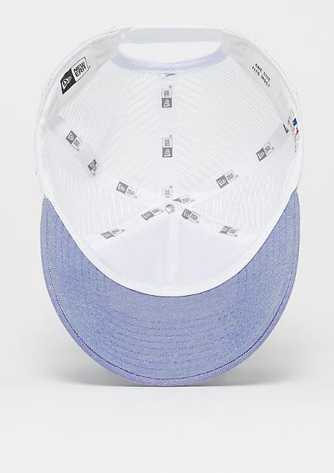 New Era 9Forty MLB New York Yankees Oxford sky blue/optic white