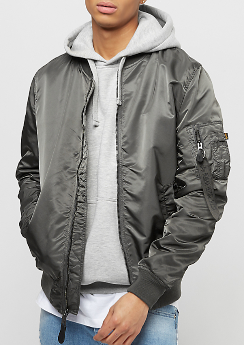 Alpha Industries MA-1 VF LW greyblack