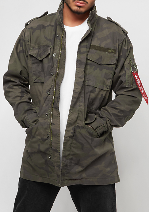 Alpha Industries Huntington dark olive camo
