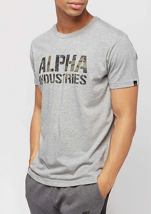 Alpha Industries Camo Print greyheather/woodland