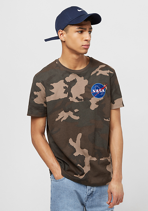 Alpha Industries Space Shuttle woodland camo