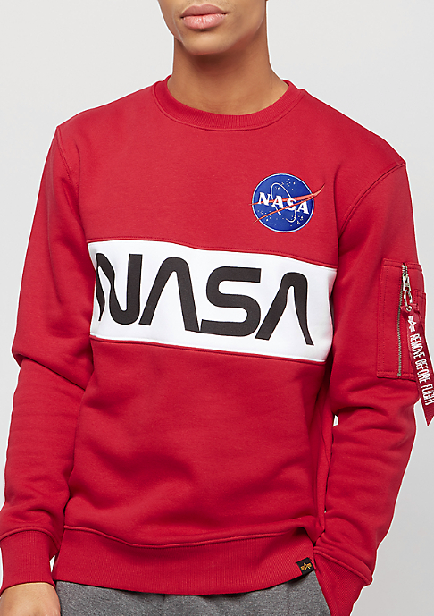 Alpha Industries Nasa Inlay speed red