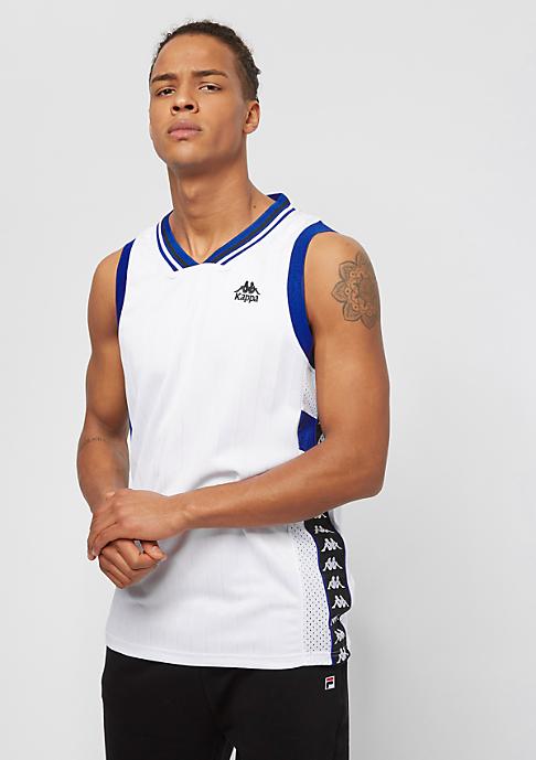 Kappa Authentic Hughes white/black/blue