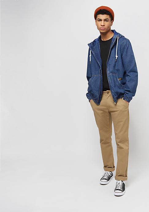 Flatbush Hooded Denim Blouson mid blue