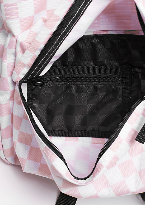VANS Realm chalk pink checkerboard