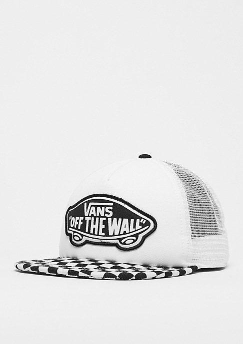 VANS Beach Trucker black/white checkerboard