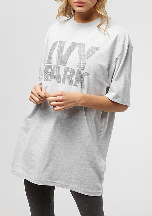 IVY PARK Dots Logo Fitted grey marl