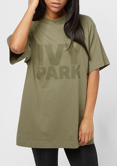 IVY PARK Programme Oversized Logo dark green