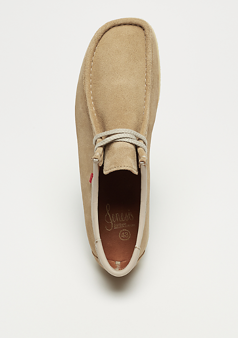 Djinn's Genesis Low Cow Suede beige/natural