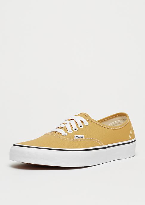 VANS UA Authentic ochre/true white