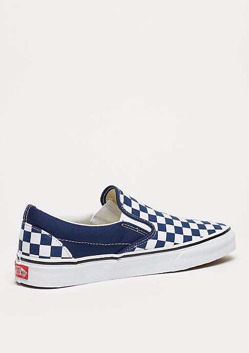 VANS UA Classic Slip-On (Checkerboard) estate blue/true white
