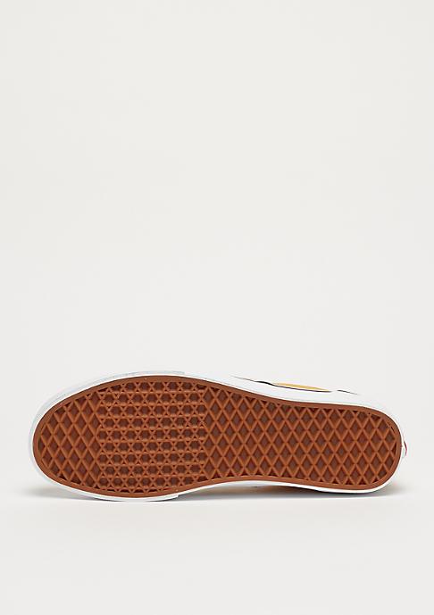 VANS UA Classic Slip-On (Checkerboard) ochre/true white