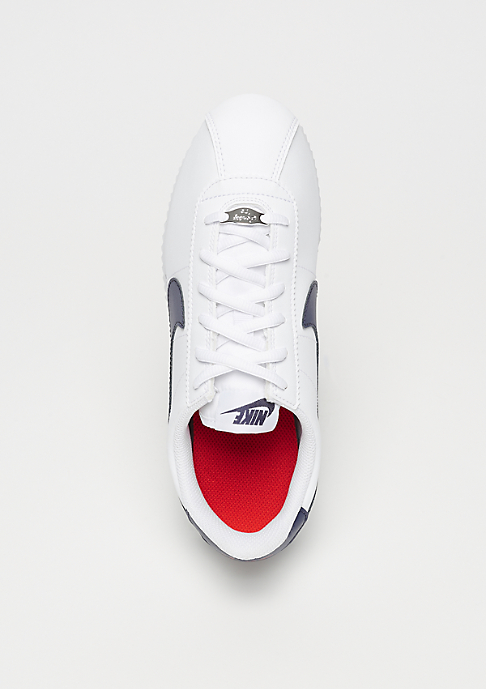 NIKE Cortez Basic SL (GS) white/neutral indigo-habanero red