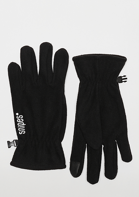 SNIPES Gloves black