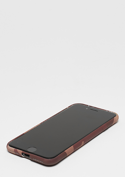 SNIPES Box Logo Case iPhone 7 rose camo