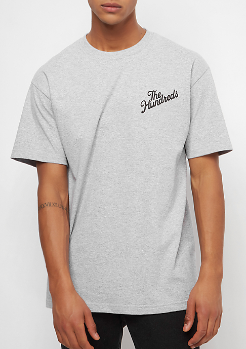 The Hundreds Forever Slant Crest athletic heather