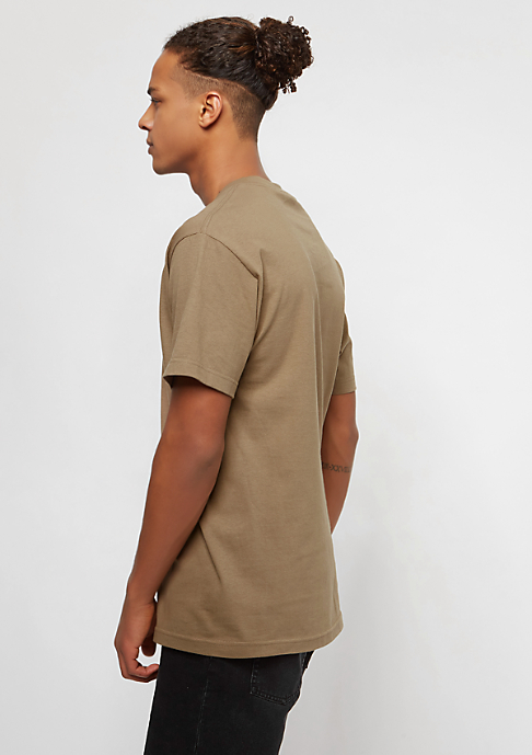 The Hundreds Camo Bar safari green