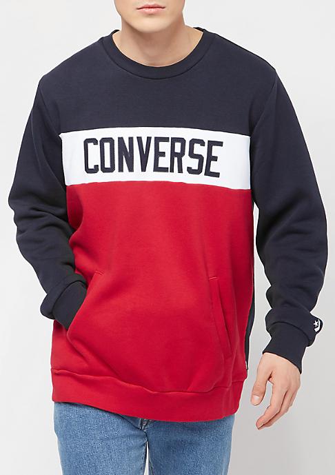 Converse Colorblock dark obisidian/enamel red