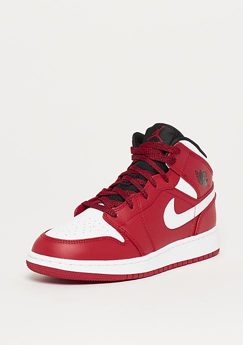 JORDAN Air Jordan 1 Mid (BG) gym red/white-black