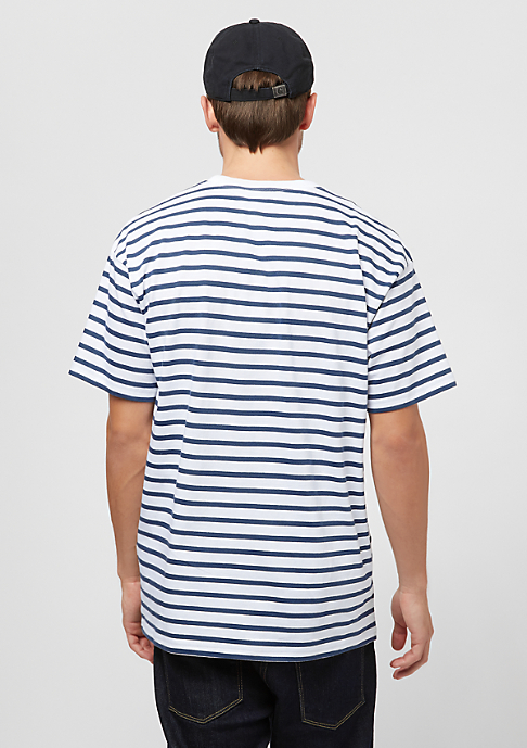 Carhartt WIP Champ stripe blue/white/goji