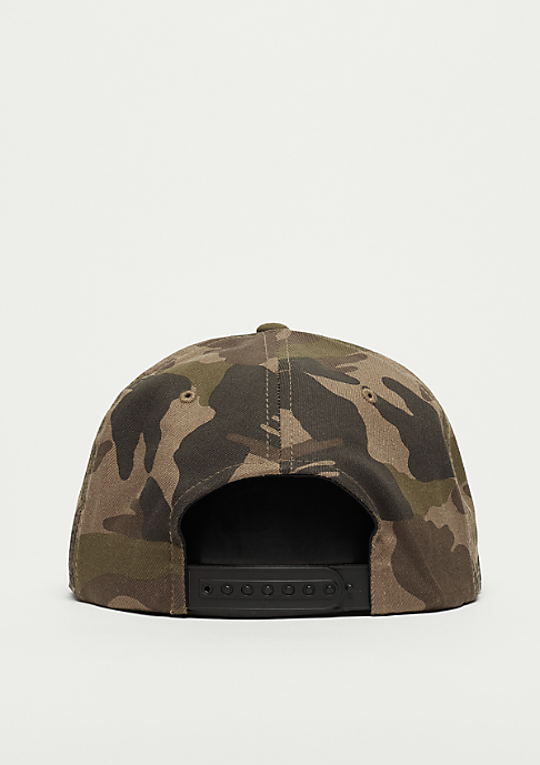 Flexfit Cotton darkgrey camo