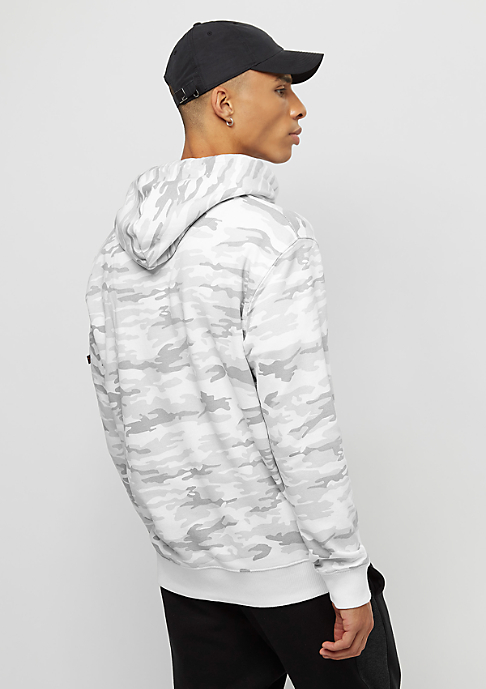 Alpha Industries X-Fit white camo
