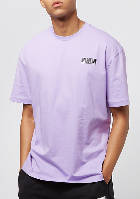 Puma Logo Tower purple rose