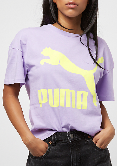 Puma Classic Logo Solid purple rose