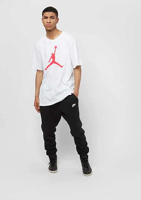 JORDAN Iconic Jumpman white/infrared