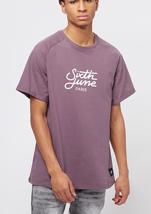 Sixth June Not So Basic dark stone purple