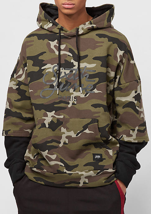 Sixth June Double Sleeves camo