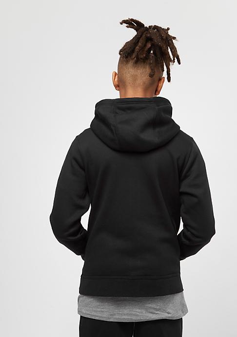 NIKE Junior YA76 Brushed Fleece black/white