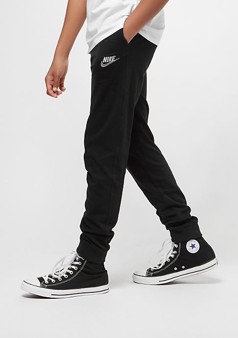 NIKE Junior NSW Pant Jersey Jogger black/wolf grey