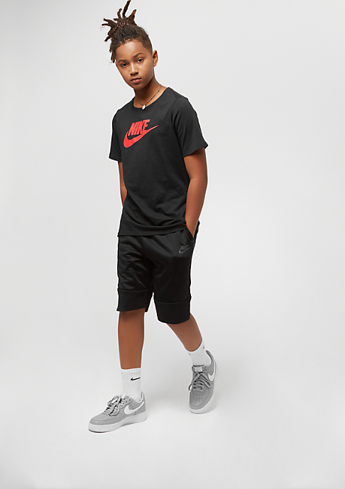 NIKE Junior Futura Icon black/rush coral
