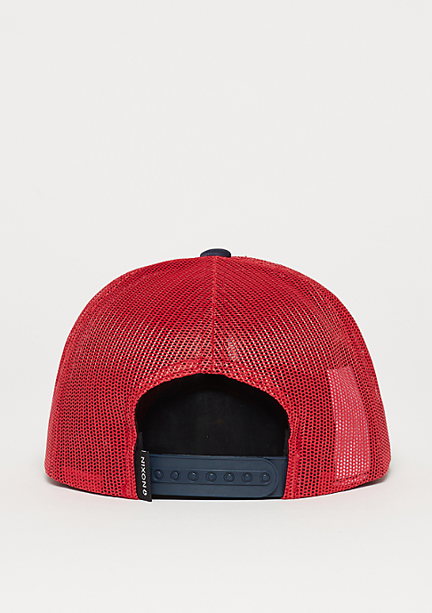 Nixon Ridge Trucker red/white/blue