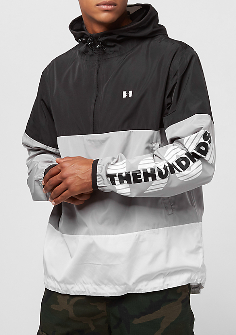 The Hundreds Overland Anorak black