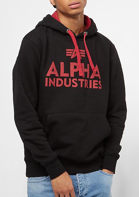 Alpha Industries Foam Print black
