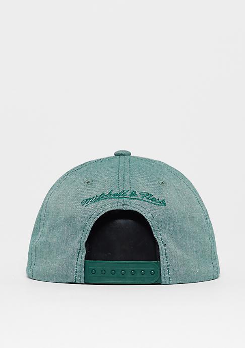 Mitchell & Ness Chambray Box Logo olive