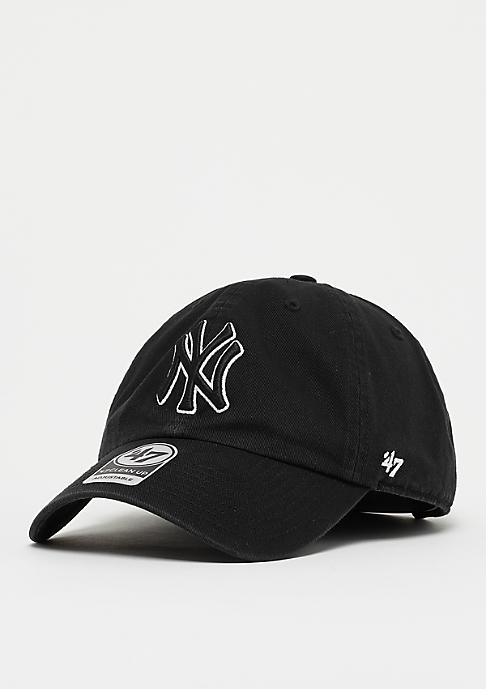 47 Brand MLB New York Yankees 47 CLEAN UP black