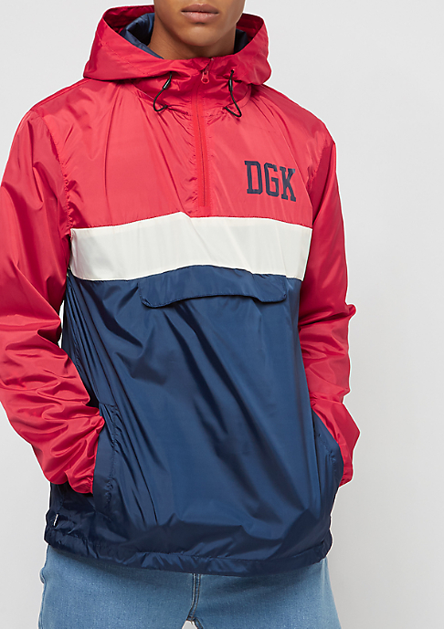 DGK Blocked red