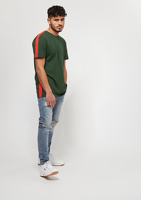 Criminal Damage Carnaby Tee olive/red