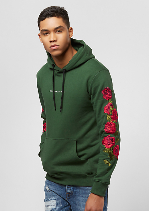 Criminal Damage Petal Hood olive/multi