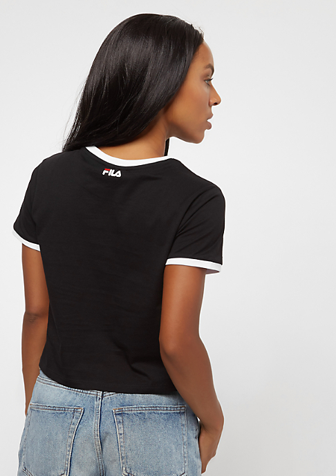 Fila Urban Line cropped Tee Ashley black / bright white