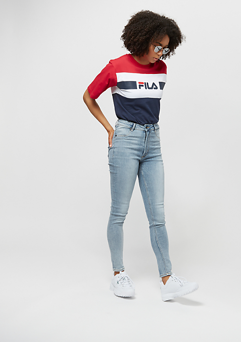 Fila FILA Urban Line Tee WMN Shannon bright whi/true re/black ir