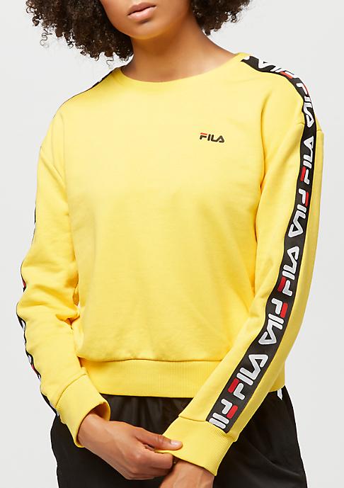 Fila Urban Line Tivka Sweat Crew Vibrant Yellow