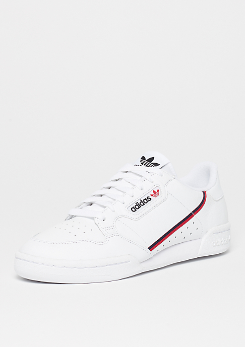 adidas Continental 80s ftwr white/scarlet/colle