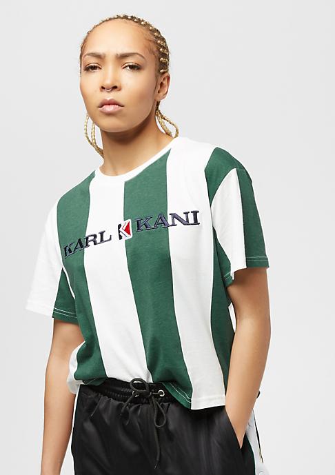 Karl Kani Retro Stripe green/white